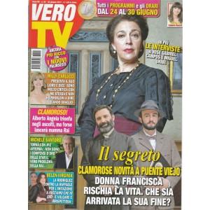 """Vero TV - Settimanale n. 25 - 26 Giugno 2017 """"il Segreto: novità a Puente Viejo"""""""