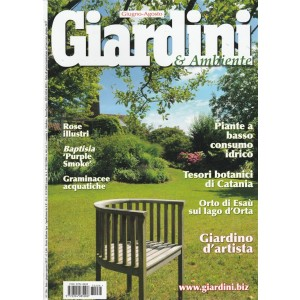 "Giardini & Ambiente - bimestrale n.286 Giugno 2017 - Baptisia ""purple Smokw"""