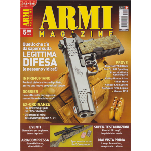 Armi Magazine - n. 12 - mensile - dicembre 2018 -