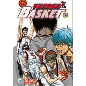 Manga KUROKO'S BASKET n.15 - ed. Star Comics-collana Dragon uscita 204