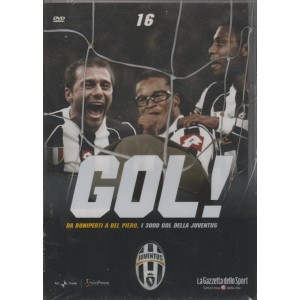 DVD Gol Juventus - Da Boniperti a Del Piero i 3000 Gol della Juventus - DVD n.16