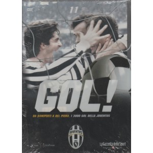 DVD Gol Juventus - Da Boniperti a Del Piero i 3000 Gol della Juventus - DVD n.11