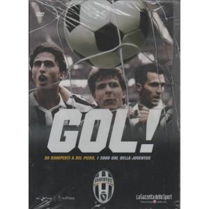 DVD Gol Juventus - Da Boniperti a Del Piero i 3000 Gol della Juventus - DVD n.15