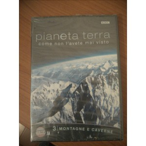 Documentario BBC - Pianeta Terra - Montagne e caverne - DVD