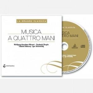 La grande classica Musica a quattro mani (Mozart- Chopin- Debussy- Stravinskij)