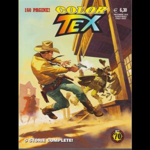 Tex Color - L'apache Bianco e altre storie - n. 14 - novembre 2018 - semestrale - 160 pagine!
