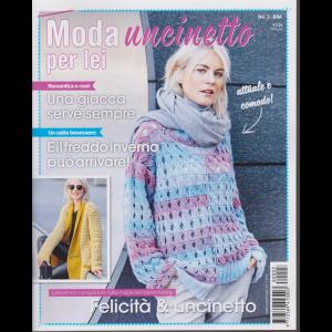 Moda uncinetto per lei - n. 3 - bimestrale - 22/11/2018