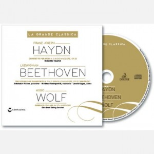La grande classica Franz Joseph Haydn, Ludwigvan Beethoven, Hugo Wolf