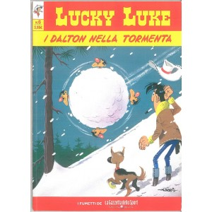 LUCKY LUKE VOL. 6 - I DALTON NELLA TORMENTA - iniz.Gazzetta dello Sport