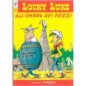 LUCKY LUKE VOL.4 -All'ombra dei pozzi - iniz.Gazzetta dello Sport