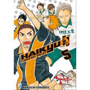 Manga HAIKYU!! n.5 - ed. Star Comics - collana TARGET uscita 50