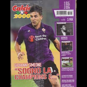 Calcio 2000 - + album 2019 - n. 237 - bimestrale - dicembre - gennaio 2019