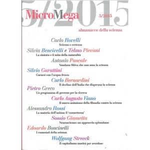 Micromega mensile nr. 5 anno 2015