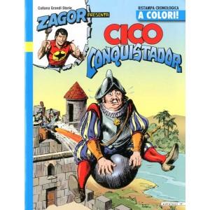 Zagor Presenta Cico A Colori - N° 8 - Cico Conquistador - If Edizioni