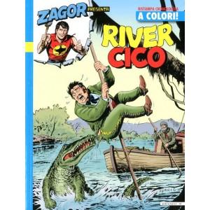 Zagor Presenta Cico A Colori - N° 15 - River Cico - If Edizioni