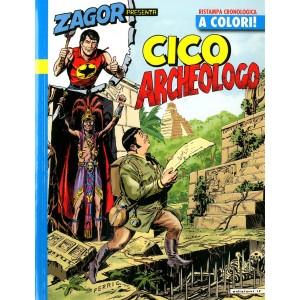Zagor Presenta Cico A Colori - N° 16 - Cico Archeologo - If Edizioni