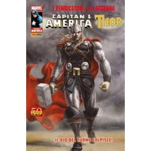 Vendicatori La Leggenda - N° 5 - Capitan America & Thor - Marvel Italia