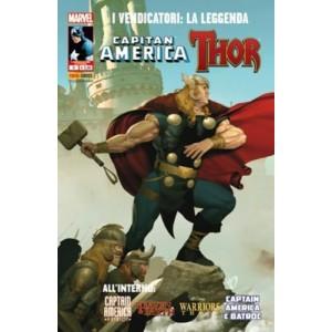 Vendicatori La Leggenda - N° 9 - Thor & Capitan America - Marvel Italia