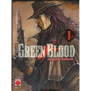 Green Blood - N° 1 - Green Blood (M5) - Planet Fantasy Planet Manga
