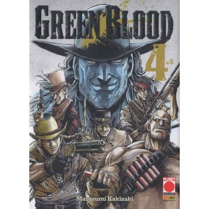 Green Blood - N° 4 - Green Blood (M5) - Planet Fantasy Planet Manga