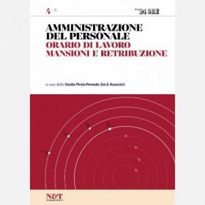 Amministrazione del personale Orario di lavoro, mansioni e retribuzione