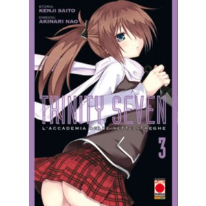 Trinity Seven - N° 3 - Accademia Delle Sette Streghe - Manga Adventure Planet Manga