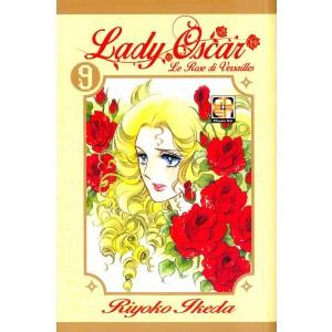 Lady Oscar Edicola - N° 9 - Le Rose Di Versailles - Lady Collection Rw Goen