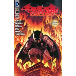 Batman Il Cav.Oscuro N. Serie - N° 10 - Batman Il Cavaliere Oscuro - Rw Lion