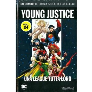 Dc Comics Le Grandi Storie... - N° 34 - Young Justice: Una League Tutta Loro - Rw Lion