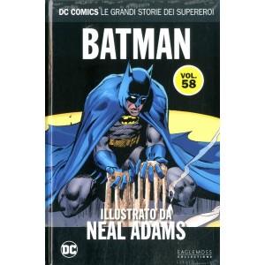 Dc Comics Le Grandi Storie... - N° 58 - Batman Illustrato Da Neal Adams - Rw Lion
