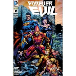 Forever Evil - N° 2 - Forever Evil - Dc Bad World Rw Lion