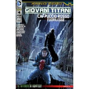 Giovani Titani/Cappuccio Rosso - N° 4 - Giovani Titani/Cappuccio Rosso - Giovani Titani Rw Lion