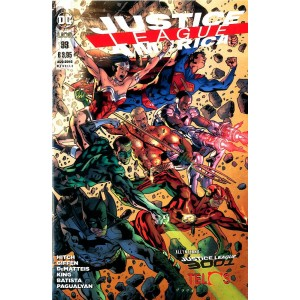Justice League America - N° 33 - Justice League America - Rw Lion