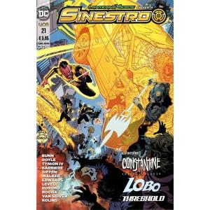 Sinestro - N° 21 - Sinestro - Lanterna Verde Presenta Rw Lion