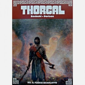 Thorgal Il fuoco scarlatto