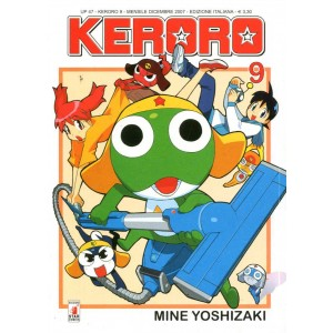 Keroro - N° 9 - Up 47 - Up Star Comics