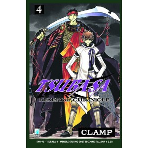 Tsubasa - N° 4 - Reservoir Chronicle 4 - Fan Star Comics