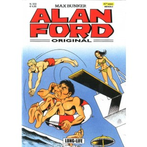 Alan Ford - N° 553 - Long-Life - Alan Ford Original 1000 Volte Meglio Publishing