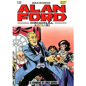 Alan Ford - N° 560 - Il Crimine Di Lord Savile A Colori - Alan Ford Original 1000 Volte Meglio Publishing
