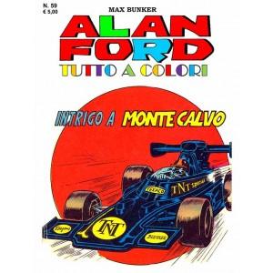 Alan Ford Tutto A Colori - N° 59 - Intrigo A Montecalvo - 1000 Volte Meglio Publishing