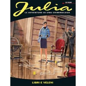 Julia - N° 184 - Libri E Veleni - Bonelli Editore