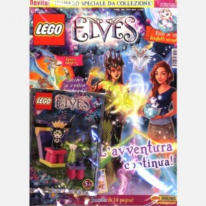 LEGO Elves - Il magazine ufficiale Numero 2 + figurina LEGO Elves in Regalo