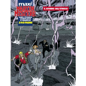 Martin Mystere Maxi - N° 4 - Maxi Martin Mystere 2008 - Bonelli Editore
