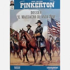"""Gli albi del West - Pinkerton Dossier: """"Il massacro di Antietam"""""""