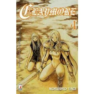 Claymore - N° 4 - Claymore 4 - Point Break Star Comics