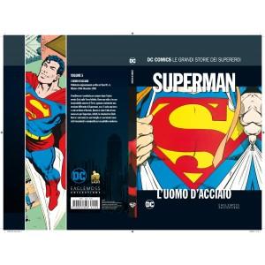 Dc Comics Le Grandi Storie... - N° 5 - Superman: L'Uomo D'Acciaio - Le Grandi Storie Dei Supereroi Rw Lion