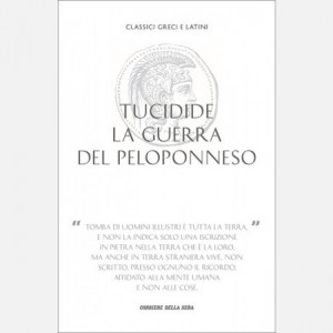 Classici greci e latini Tucidide, La guerra del Peloponneso