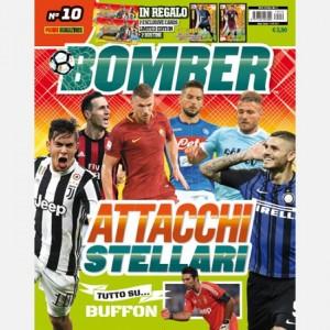 BOMBER Ottobre 2017 + 2 Cards Limited Edition (Miranda e Adem Ljajić) + 2 Bustine Calciatori Adrenalyn 2017-18