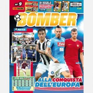 BOMBER Settembre 2017 + 2 Cards Limited Edition (Andrea Poli e Stefan de Vrij) + 2 Bustine Calciatori Adrenalyn 2017-18
