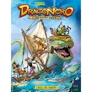 Dragonero Adventures - N° 6 - L'Isola Del Kraken - Bonelli Editore